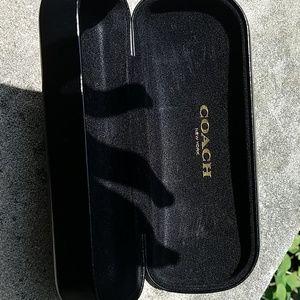Coach Accessories - Coach sunglass eye case hardcover black
